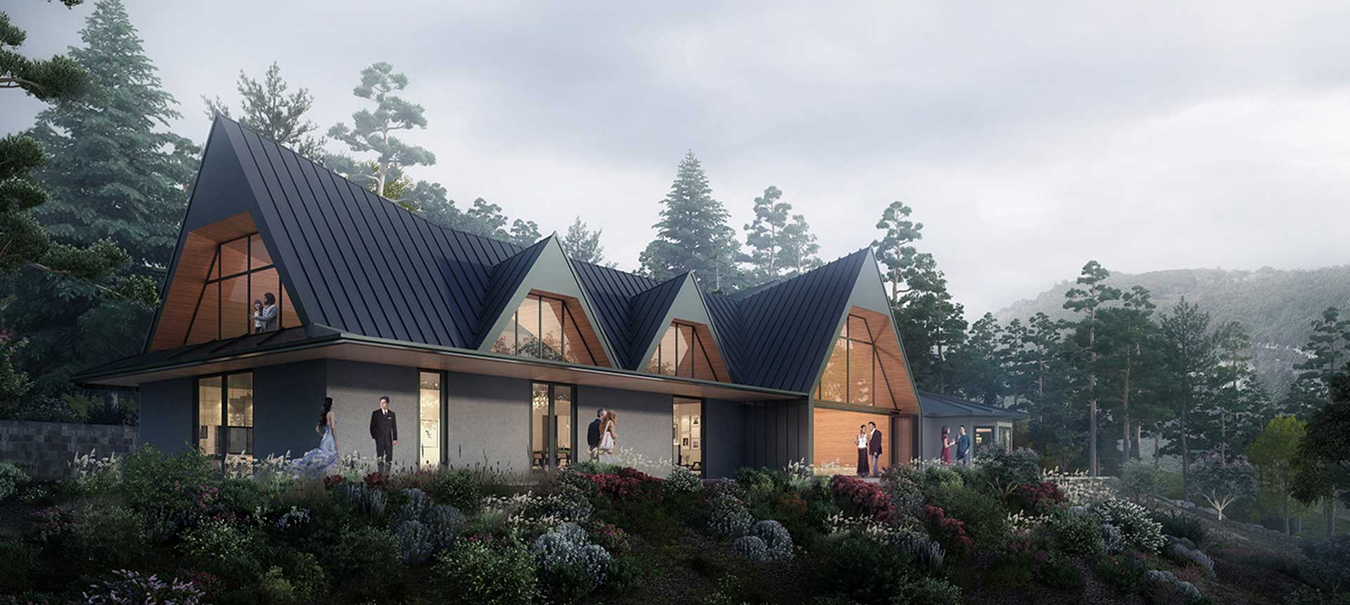 Siol Architects Tiburon Bluff Exterior Rendering