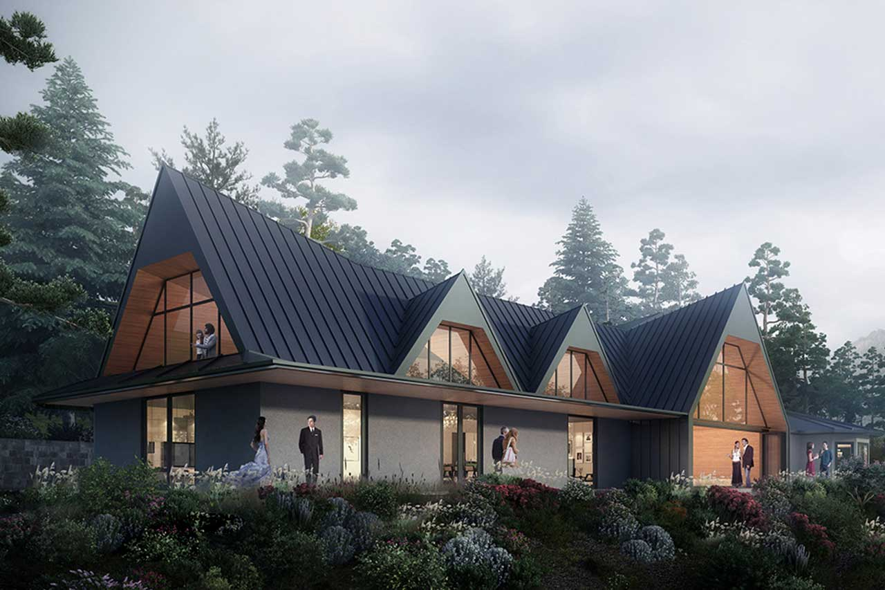 Siol Architects Tiburon Bluff Project Exterior Rendering